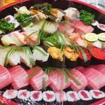 松竹寿司 - 出前です...