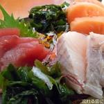 創作家庭料理 Dining禅 - 刺身三種盛合せ