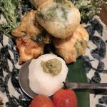 Tosaka-na Dining Gosso - 鳥ささみのシソ入り天ぷら