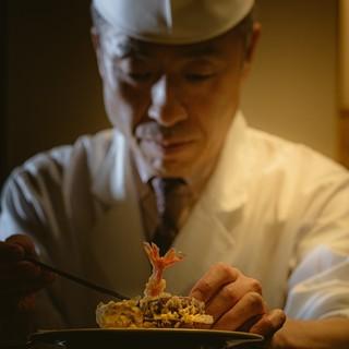 [職人の技とおもてなし]伝統の技が光る歴史ある天ぷらをご提供