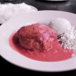 ステーキバル Ryo GINZA - 名物!!!熟成肉ハンバーグ