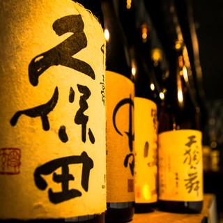 全国各地の厳選地酒を豊富に取り揃えております。