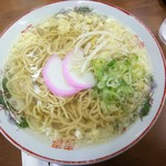 武蔵屋食堂 - 素ラーメン 500円