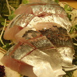 さかなや 富ちゃん - アジの刺身
