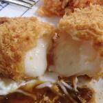 レストラン Tiara - クリームコロッケ断面