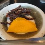 海望 - ・カニ雑炊の漬け物