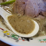 ぶぃスリー - マー油が旨いスープ