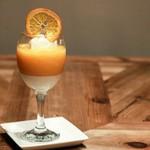 ジ オールド ティッコ コーヒー ダイニング - オレンジゼリー
