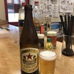 山田酒類販売 - 赤星中ビンが380円ですよ~!(2019.9.25)