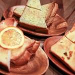 ジ オールド ティッコ コーヒー ダイニング - オレンジ・よもぎ・かぼちゃ選べる3種トーストセット