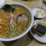 ラーメン 菅家 - 辛味噌ラーメン ランチセット 【 2012年2月 】
