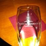 11624390 - モエ・シャンドンのグラス