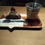 116244124 - モンブラン&水出しアイスコーヒー