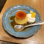 たまご洋食 グリルモア - 懐かしいプディング(税込400円)