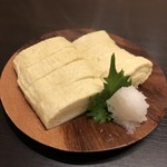 和ごころ ゆめ - 料理写真:下頓別ピックファルミのこだわり卵のだし巻き
