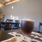 カフェ ハチミツ - ドリンク写真:コーヒーフロート