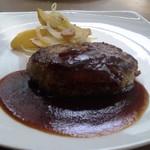 11626931 - 1日20食限定 黒毛和牛のハンバーグステーキ