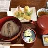 いしいのそば - 料理写真:そばと天ぷら
