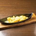鶏ダイヤモンド - ガーリックチーズポテト