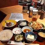 藁焼きと茶碗蒸し 西新橋魚金 - 週替わり定食