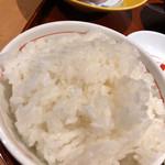 藁焼きと茶碗蒸し 西新橋魚金 - ご飯