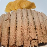 風の家 - 鶏レバーパテのブルスケッタ