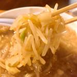 ラーメン豚珍 - クタ野菜