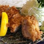 右近 - 料理写真:ひれかつ定食 1400円。
