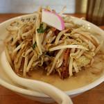 極濃湯麺 フタツメ - 料理写真:濃厚タンメン。炒められたモヤシがいい色です。