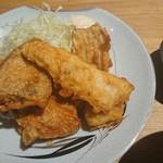美味 秋藤 - いろんな魚の胡麻油揚げ