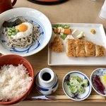 ごまそば鶴喜 - 料理写真:美瑛とんかつ御膳