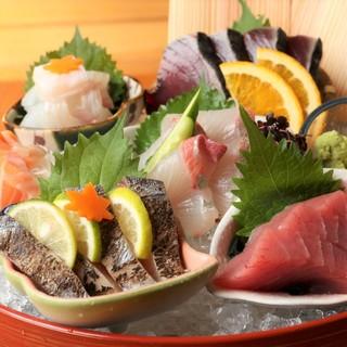 【鮮魚】毎日朝獲れた新鮮なお魚をご提供
