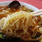 珍満茶楼 - 雲呑麺の麺