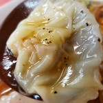 珍満茶楼 - 雲呑麺の雲呑