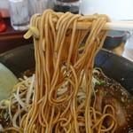 岩岩ラーメン - 細麺