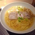 washokubaruhareruya - 比内地鶏そば(塩)