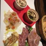 ITALIAN QUATRO - 前菜6種盛り合わせ