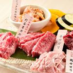 紅だるま - 料理写真:肉の盛合