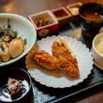 牡蠣屋 - 牡蠣屋定食