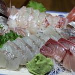 海鮮大黒丸 - 料理写真:刺身盛り合わせ