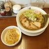 中華そば馥 - 料理写真:中華そばとサービス肉めし