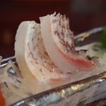 十三 すし屋台 - お刺身五種盛り(鯛)