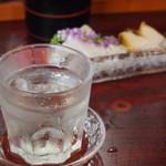 十三 すし屋台 - 冷酒(奥播磨 夏の純吟超辛)