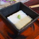 十三 すし屋台 - 落花生の豆腐