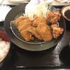 とんかつ ながた園 - 料理写真:選べる定食840円+唐揚げ3個200円