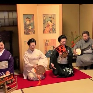 円山町の希少な芸者を招く、情緒溢れるご宴会をお楽しみください