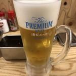 串カツ田中 - ドリンク写真:生ビール。