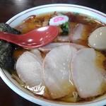 116293221 - 醤油チャーシューワンタン麺