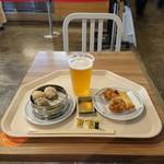 崎陽軒 - 料理写真:ビールセット1,180円。