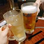 116296877 - 生ビールとハイボール